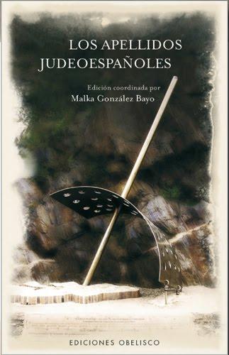 El libro: Los Apellidos Judeoespañoles