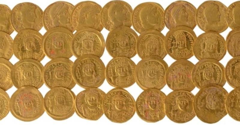 Antiguo tesoro dorado encontrado a los pies del Monte del Templo de Jerusalén