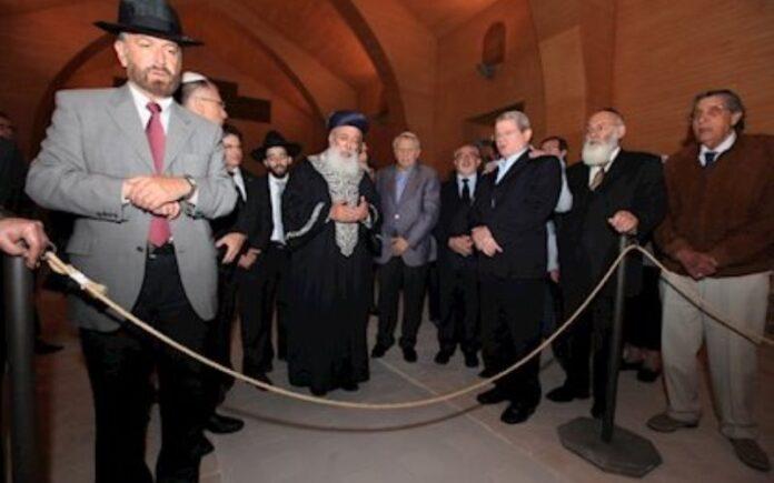 El Gran Rabino Sefardita de Israel celebra el primer acto religioso en la Sinagoga de Lorca tras 520 años