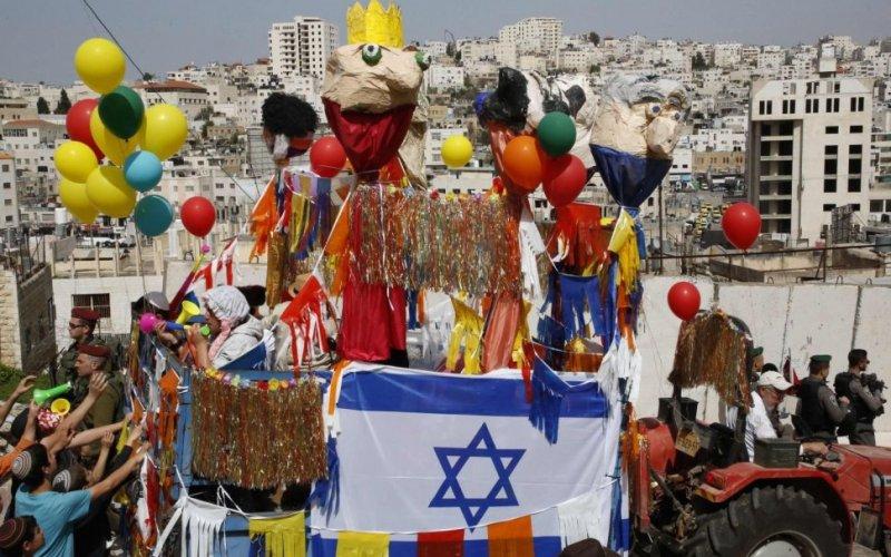 israelíes se preparan para Purim