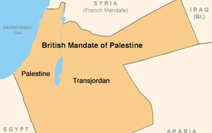 """La mentira de una """"palestina ocupada"""""""