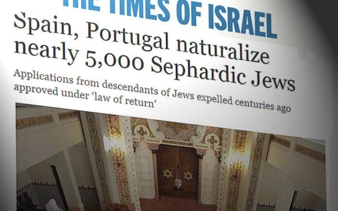 Medios israelíes resaltan que España y Portugal han nacionalizado ya a 5.000 judíos sefardíes