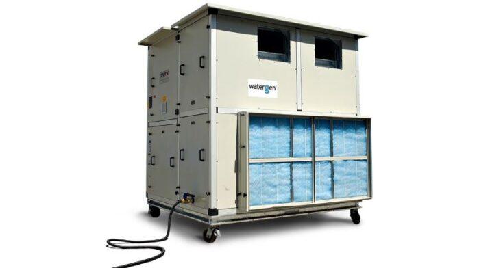 Tecnología israelí saca agua del aire durante conferencia AIPAC