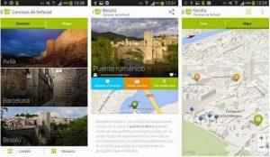 """App """"Caminos de Sefarad"""" (iOS y Android)"""