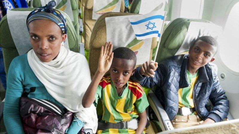 de Etiopía a Israel