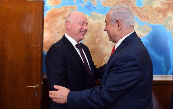 Funcionarios estadounidenses de alto nivel llegan a Israel para realizar esfuerzos de paz