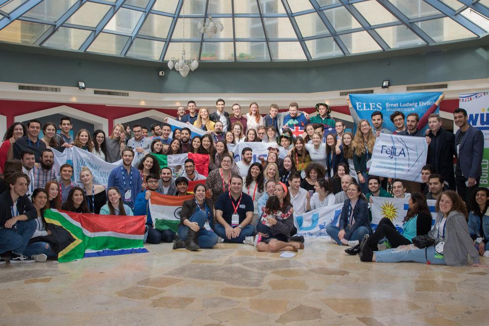 Estudiantes líderes judíos de todo el mundo se reúnen en Israel