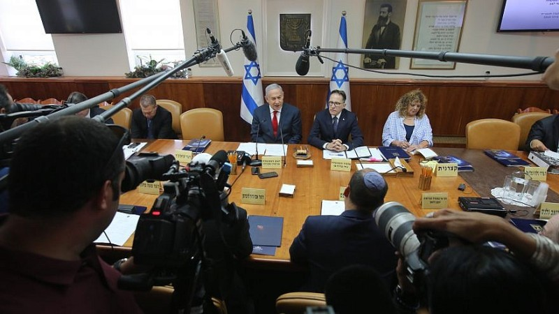 gabinete israelí