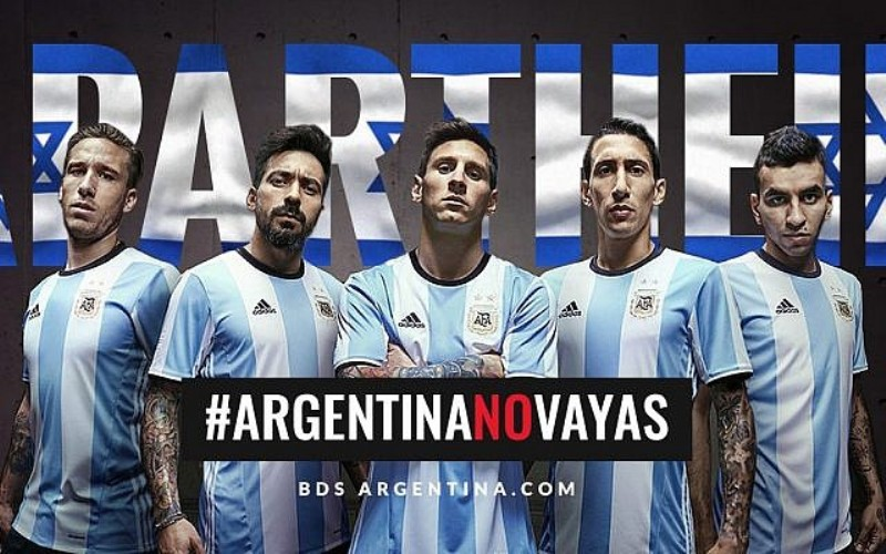 Argentina cancela partido amistoso con Israel después de la presión palestina
