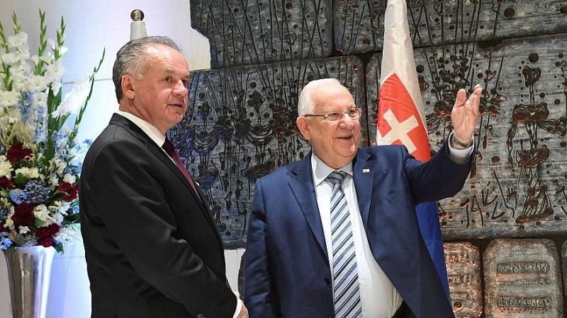 Eslovaquia declara que moverá su embajada a Jerusalén