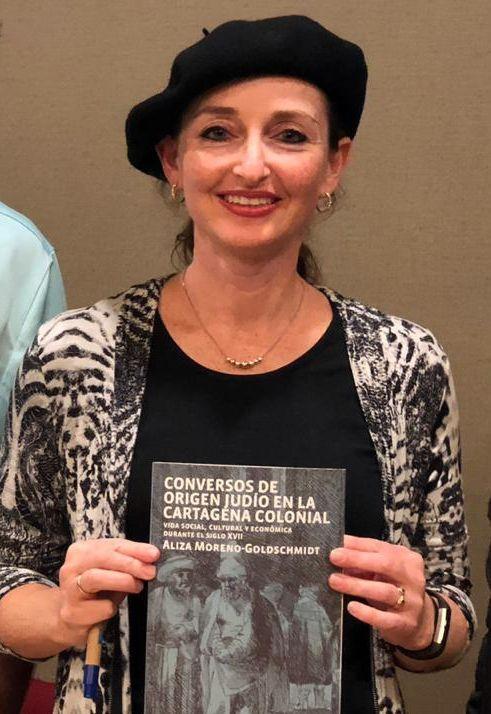 Dra. Aliza Moreno-Goldschmidt, bibliotecaria de Judaica, Biblioteca Nacional de Israel.
