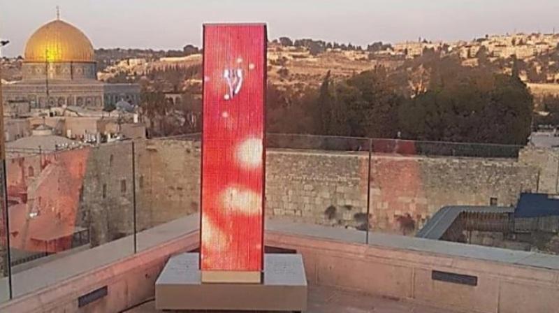 Mezuzá más grande del mundo