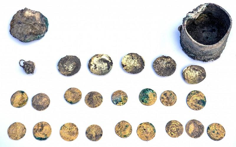 Tesoro del siglo XI descubierta en la antigua Cesarea