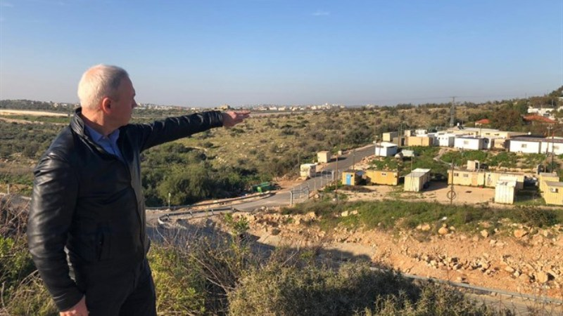 soberanía en Judea y Samaria