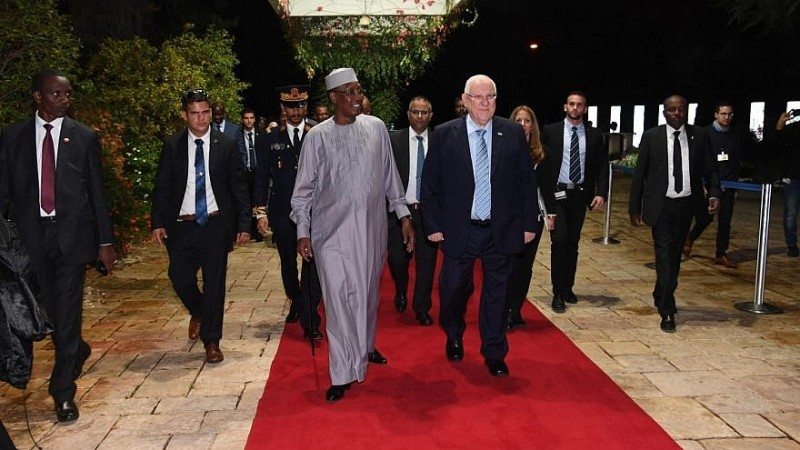Israel y Chad deciden renovar relaciones diplomáticas