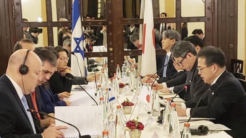 Israel y Japón