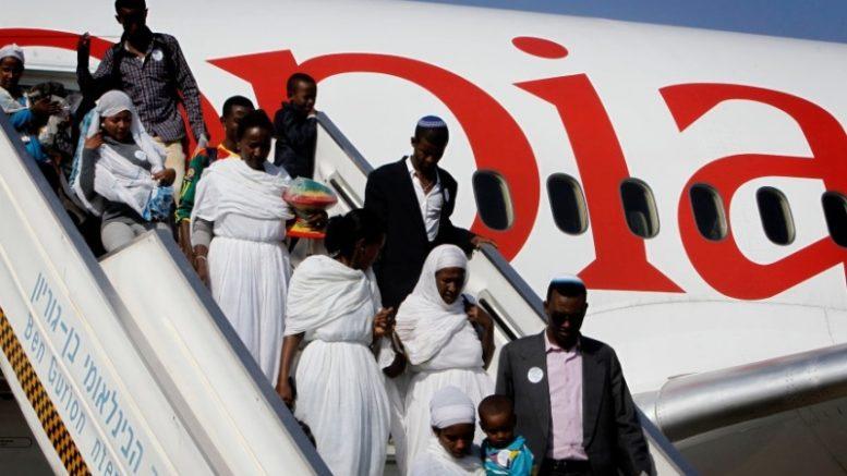 inmigrantes etíopes
