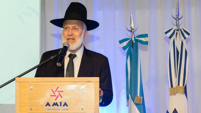 El Rabino de Buenos Aires fue brutalmente atacado en su domicilio