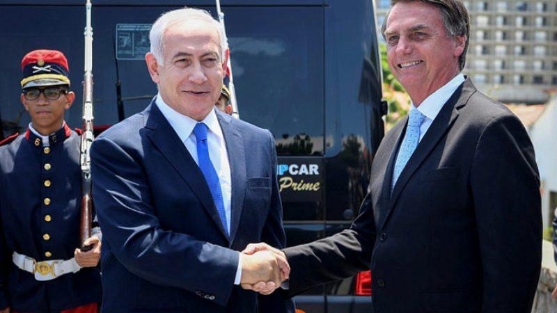 Brasil agradece a Israel
