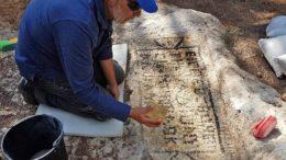 Inscripción griega del siglo V encontrada en el sitio de la antigua rebelión samaritana