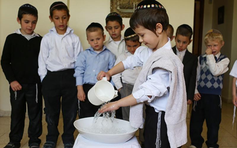 Bendición sobre el lavado de manos (Netilat Yadayim)
