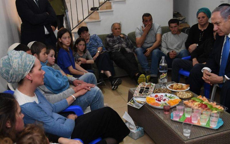 Netanyahu hace una visita de condolencia