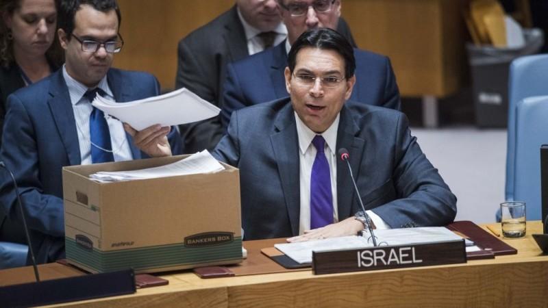 Embajador israelí
