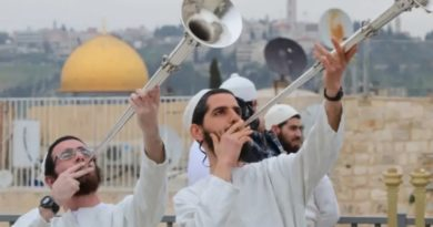 Se recrea en Jerusalén la celebración de la Pascua del Templo