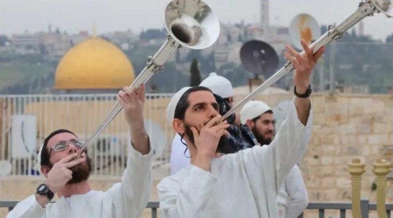 Se recrea en Jerusalén la celebración de la Pascua del Templo 1