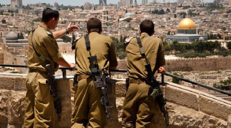 Orando por el bienestar del Estado de Israel