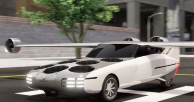 auto eléctrico volador