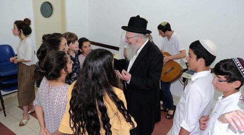 niños israelíes