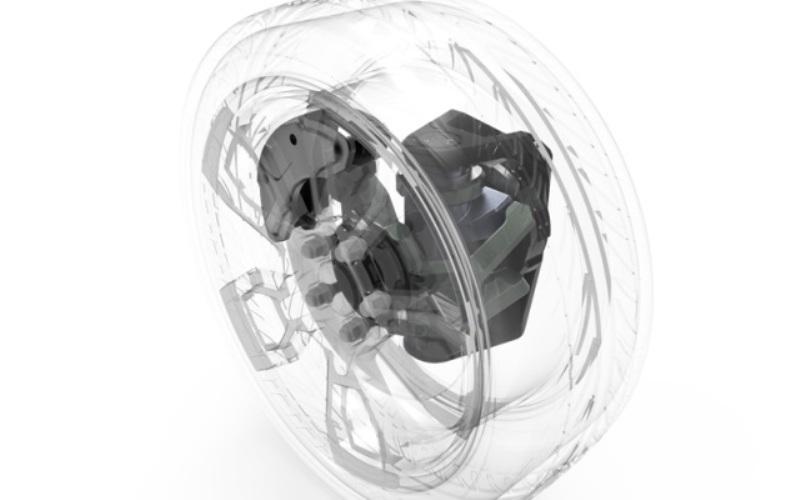 La startup israelí reinventa la rueda, usándola para contener los componentes clave del auto