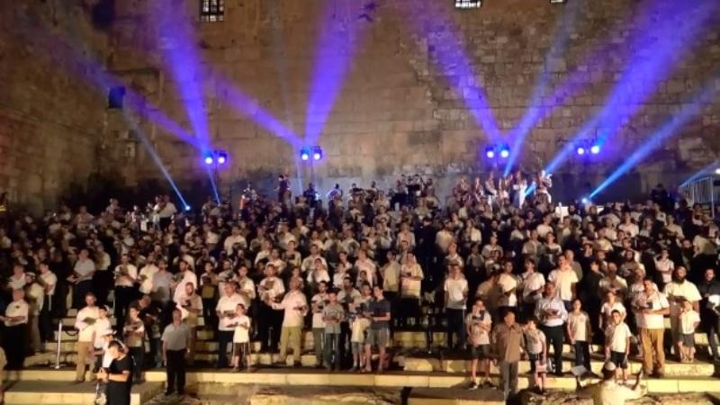 Después de 2000 años se reúnen los levitas para cantar salmos en Jerusalén