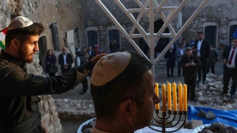 Las velas de Janucá se prenden en Kurdistán Irak, donde quedan pocos judíos
