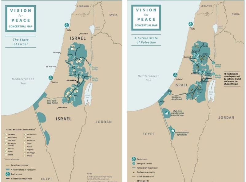 El Acuerdo del siglo ha sido revelado: Estados Unidos reconoce asentamientos, Israel congelará la construcción durante 4 años