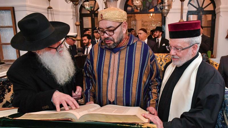 El rey Mohammed VI honra a la comunidad judía de Marruecos en Essaouira