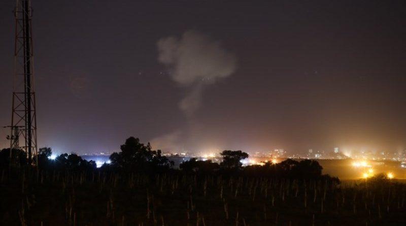 FDI atacan a Hamas