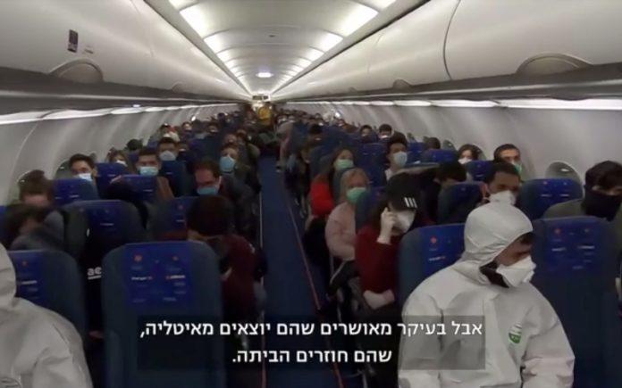 israelíes huyen de Milán