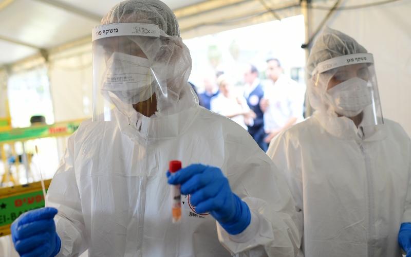 Israel abre la primera instalación de prueba de coronavirus en Tel Aviv