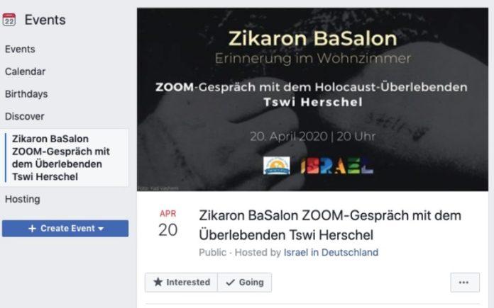 Los antisemitas irrumpen en el memorial virtual del Holocausto organizado por la embajada israelí en Alemania