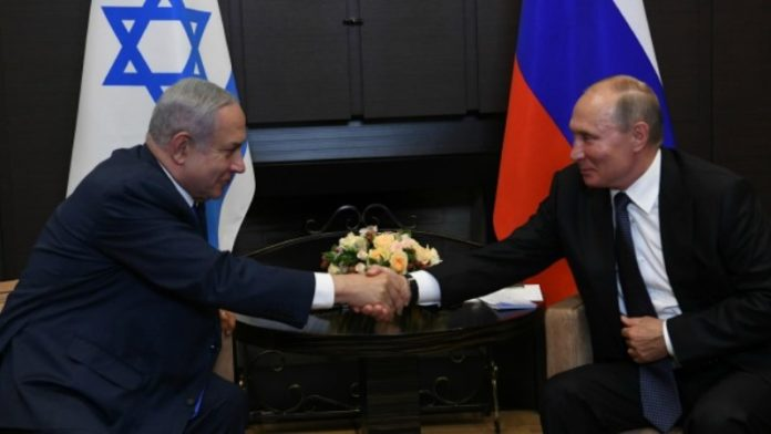Netanyahu y Putin discuten la cooperación entre Israel y Rusia en la lucha contra el coronavirus