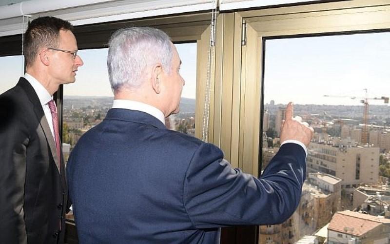 El Ministro de Exteriores de Hungría, uno de los aliados más firmes de Israel en Europa, llego a Jerusalén este lunes
