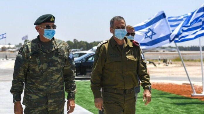 Jefes del ejército griego e israelí discuten el fortalecimiento de los lazos