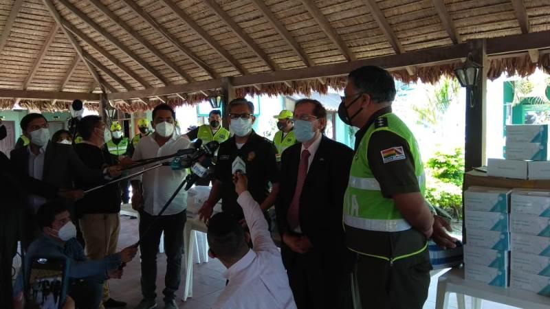 Israel dona material de bioseguridad a Bolivia