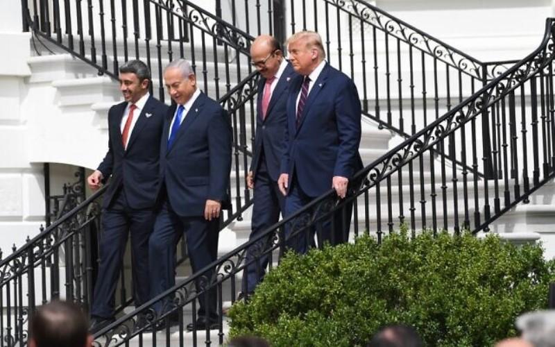 Israel firma acuerdos históricos con los Emiratos Árabes Unidos y Bahrein, que marcan el 'amanecer del nuevo Medio Oriente'