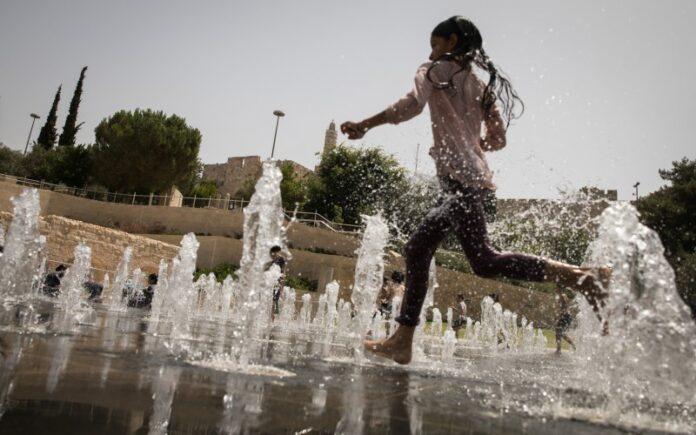 Jerusalén registra la temperatura más alta en la ciudad desde 1942
