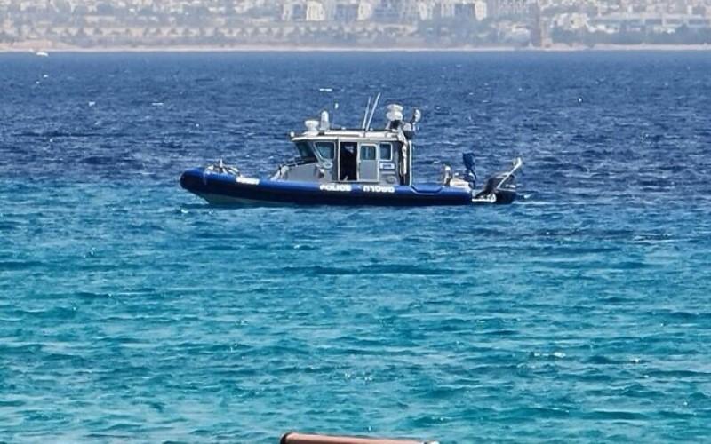 Un hombre jordano cruza la frontera nadando hacia Eilat y dice que buscaba un futuro mejor