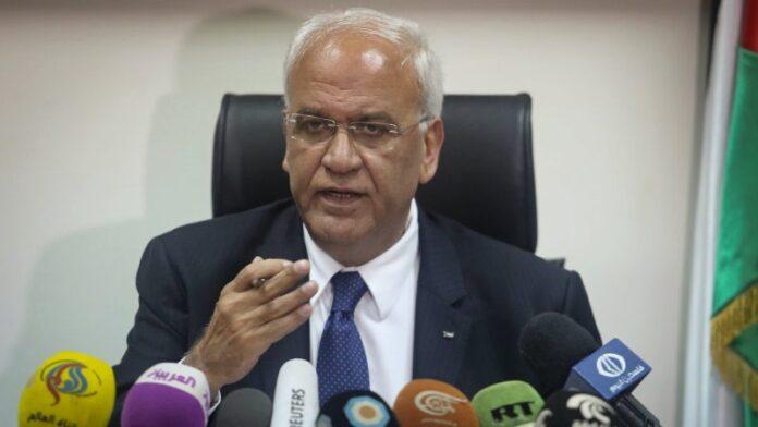 El alto funcionario palestino Saeb Erekat se encuentra en condición 'crítica' con COVID-19 en un hospital israelí