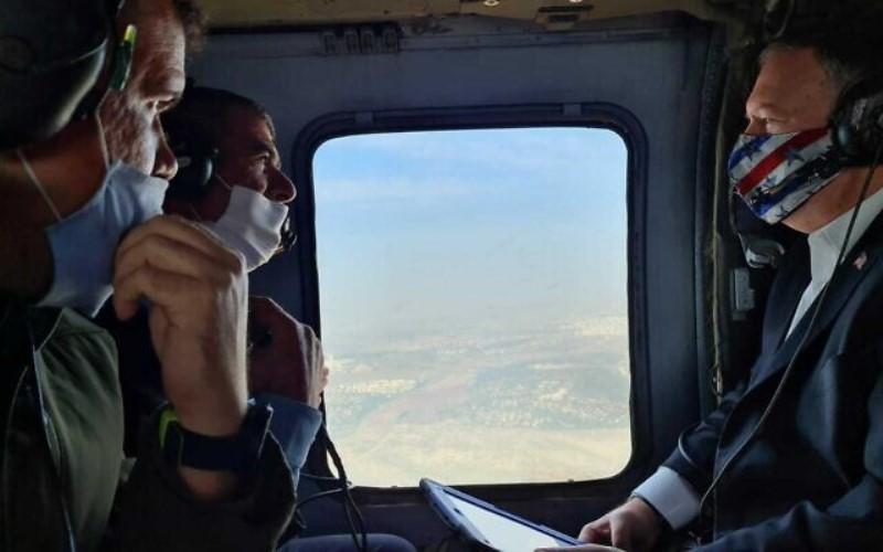 Pompeo realiza una visita sin precedentes a los Altos del Golán: 'Esto es Israel'
